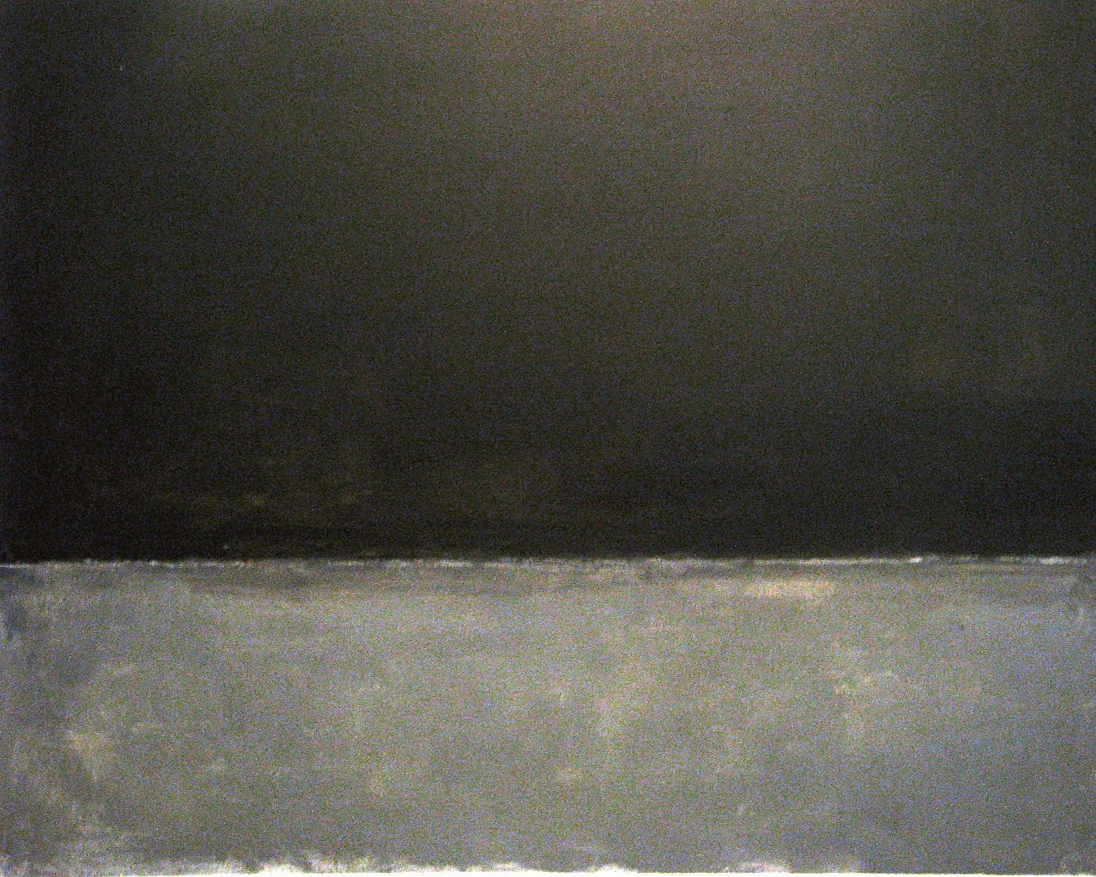 Mark Rothko, Untitled (Black on Grey), 1970 | by ekenitr