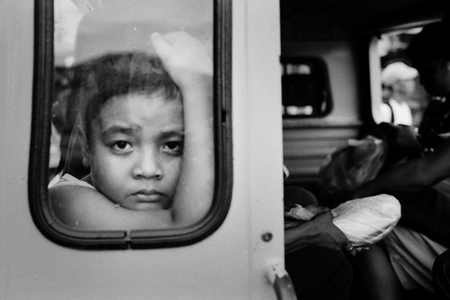 A boy in the Jeepney | by SungsooLee.com