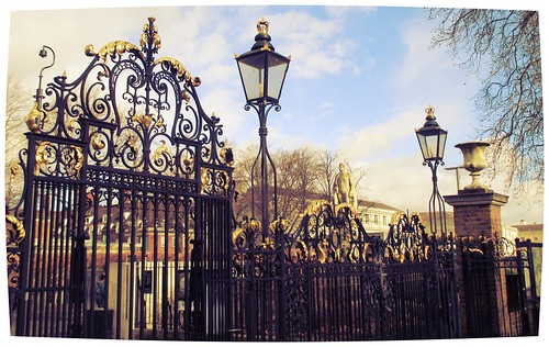 Greenwich Royal Park Gates | by Diego Sideburns