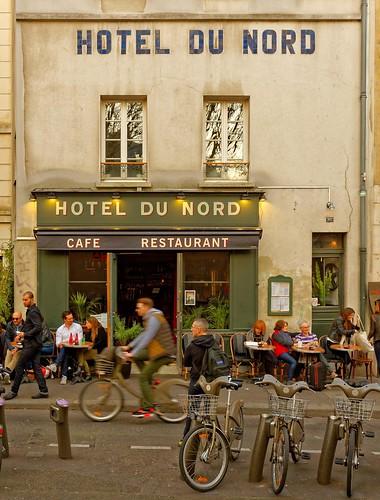 H tel du nord canal saint martin paris 1 2 h tel for Decor hotel du nord