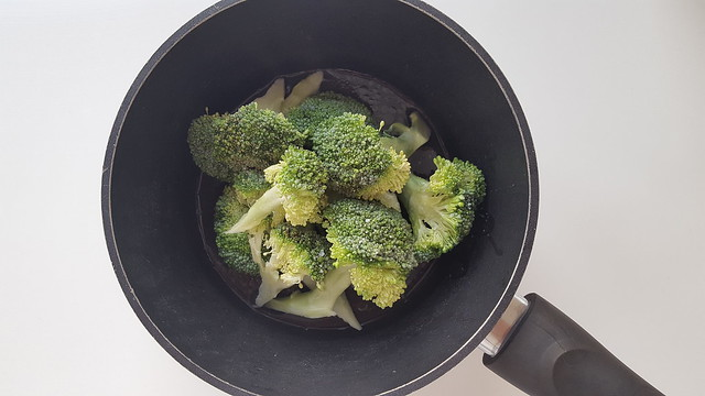 Recipe for Steamed broccoli