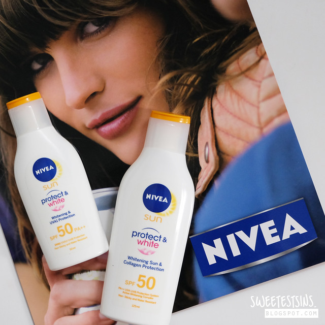 nivea protect & white sun lotion review