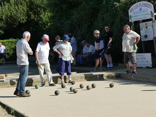 06/08/2016 - Primel Trégastel (Plougasnou) : Concours de boules plombées en triplettes formées