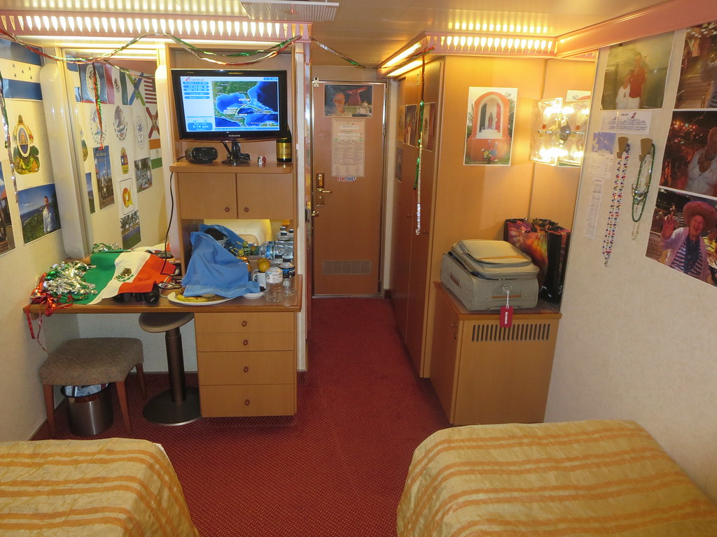 Carnival Glory Cruise Ship Interior Stateroom Decorated Fo