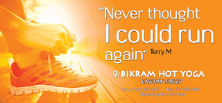 Bikram_OOH_PosterFlexRetro_2015_TerryM | by Bright Orange Advertising