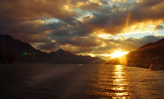 Lake Wakatipu Sunset