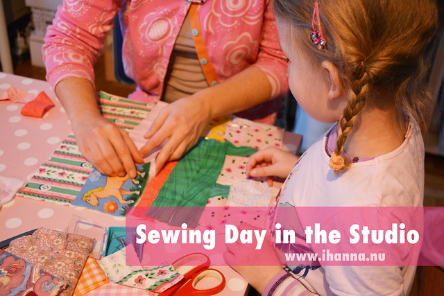 {workshop} Sewing day in iHanna's Studio