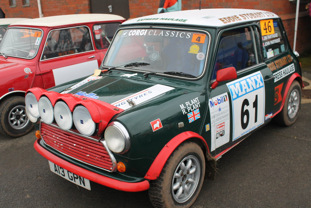 Rover 1990 Mini Cooper Rally Car (Better Photo) A13 GPN | Flickr