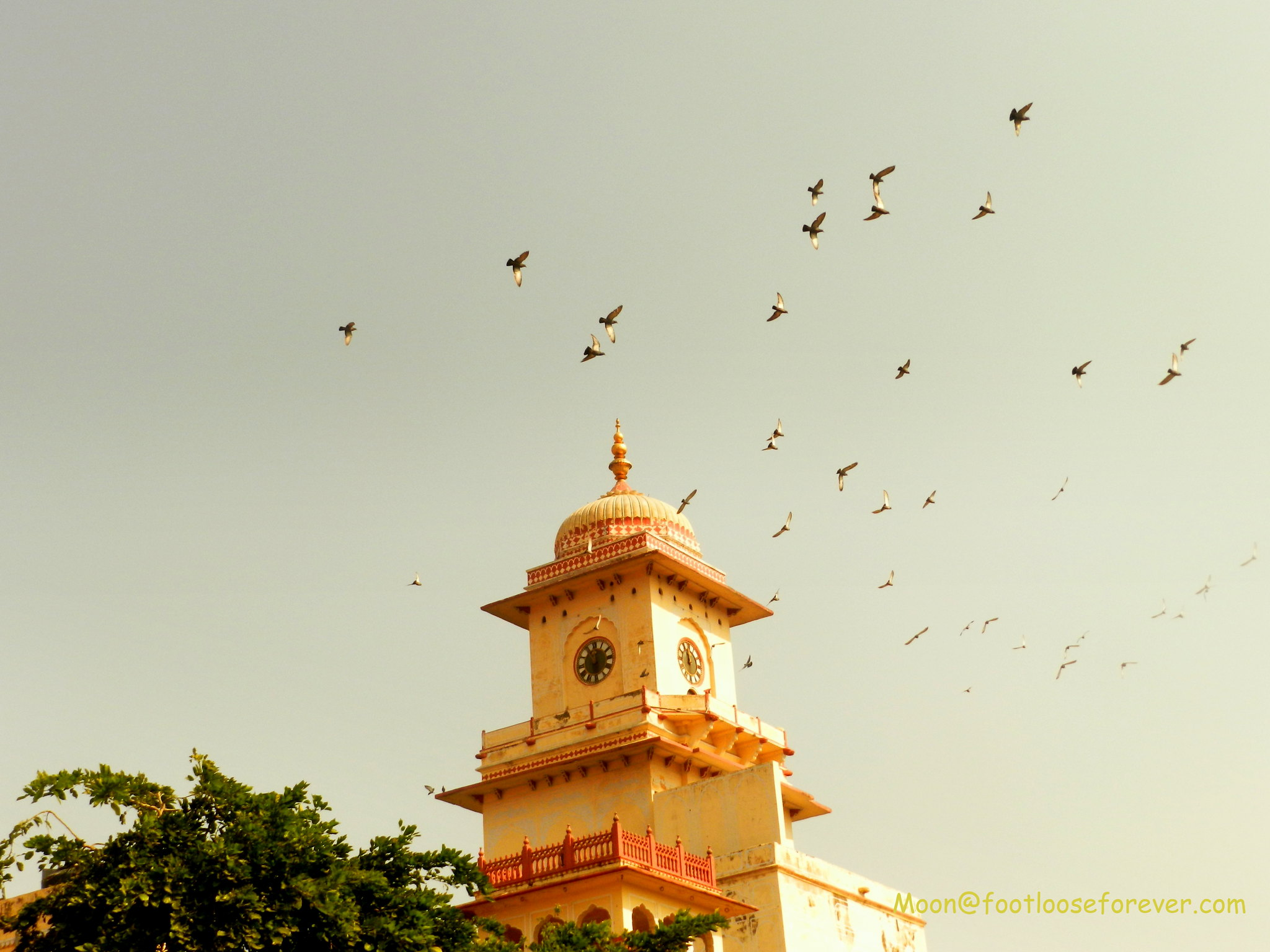 clock tower jaipur, jaipur city palace