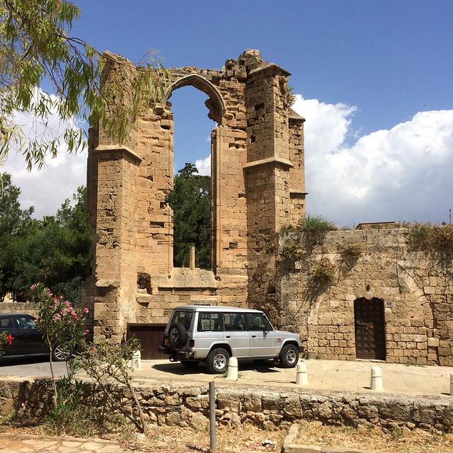 St Francis church ruins Famagusta