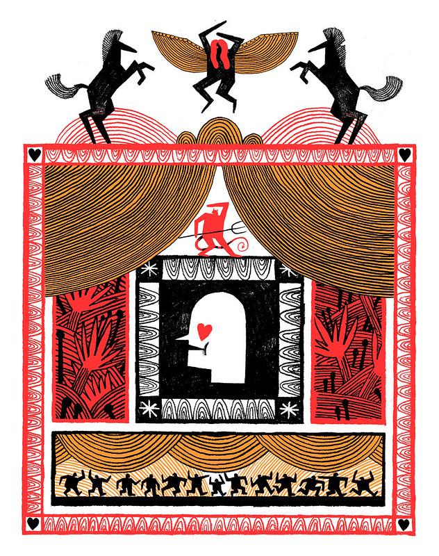 Payne, Theo. Renaissance. 2016. Digital Illustration. Brighton.