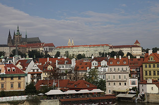 Prague castle view | by David Finckel and Wu Han
