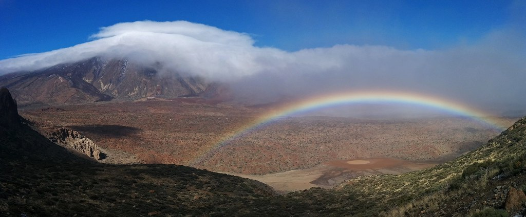 Snowbow by Teide
