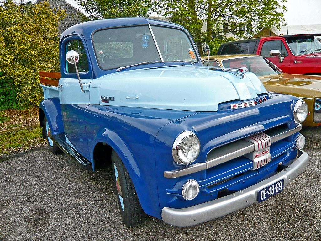 dodge  series pick  truck    dodge   flickr