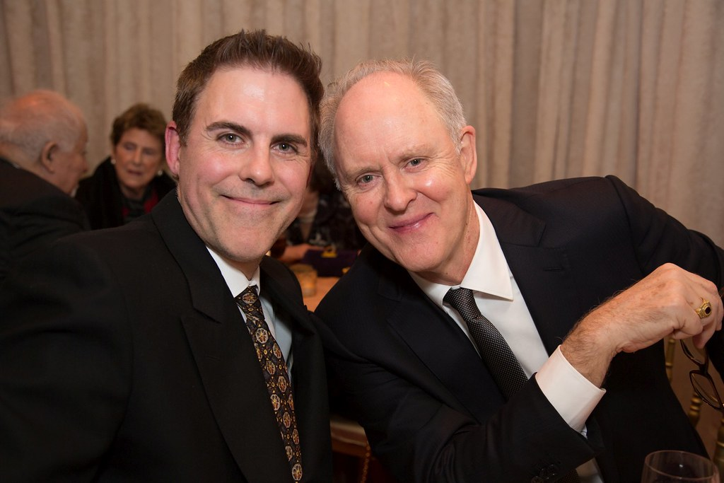 Ian David Lithgow and his father John Lithgow