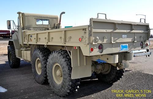 1983 Truck Cargo 5 Ton 6x6 M 923 Wo W Without Winc