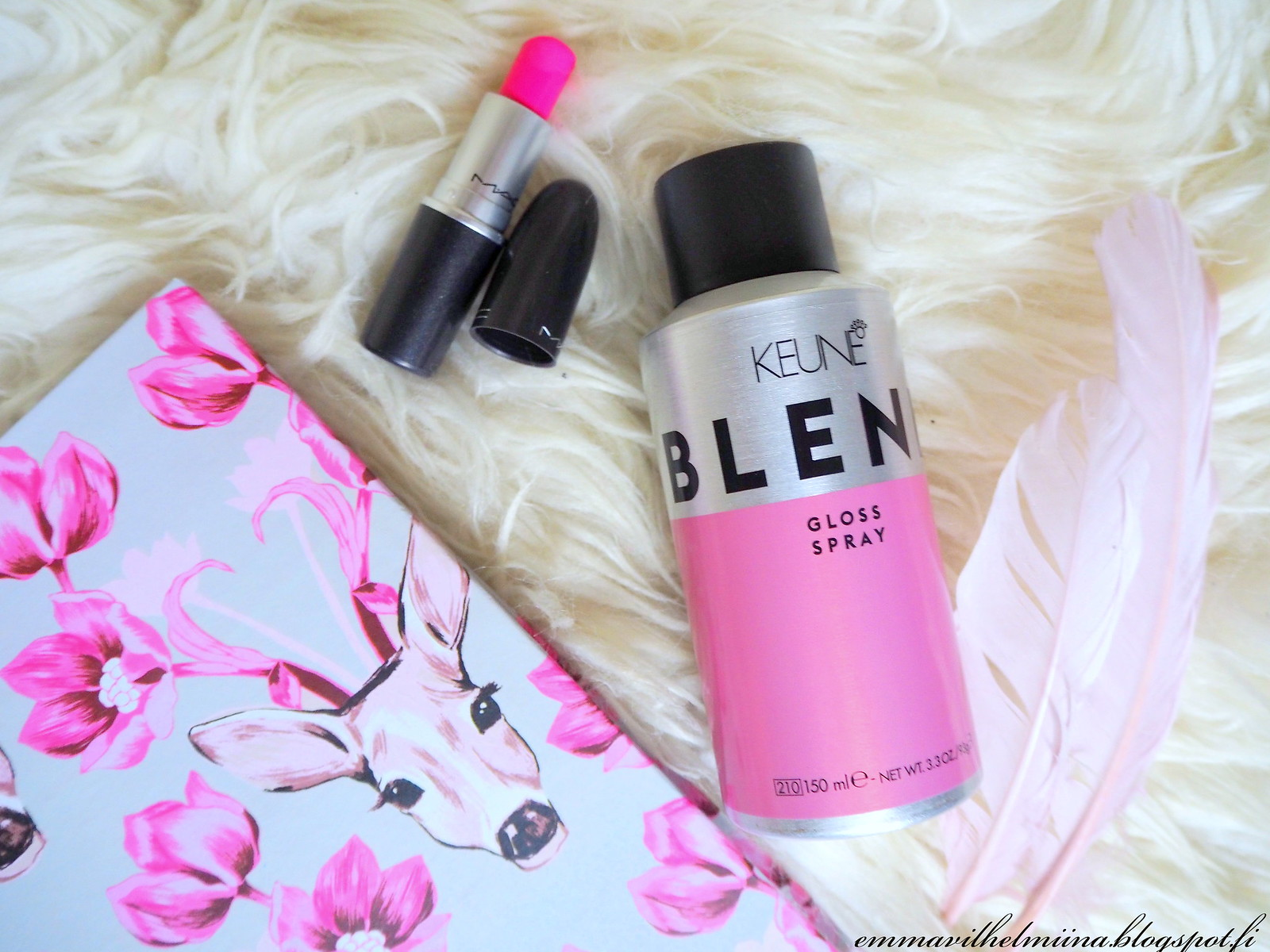 keune blend gloss spray