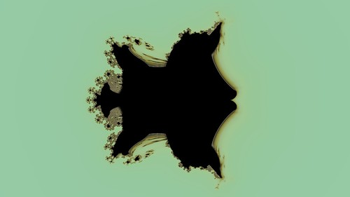 Partial Celtic Buffalo Fractal