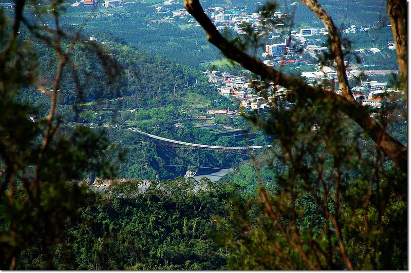 田良井西峰俯瞰山地門山川琉璃吊橋