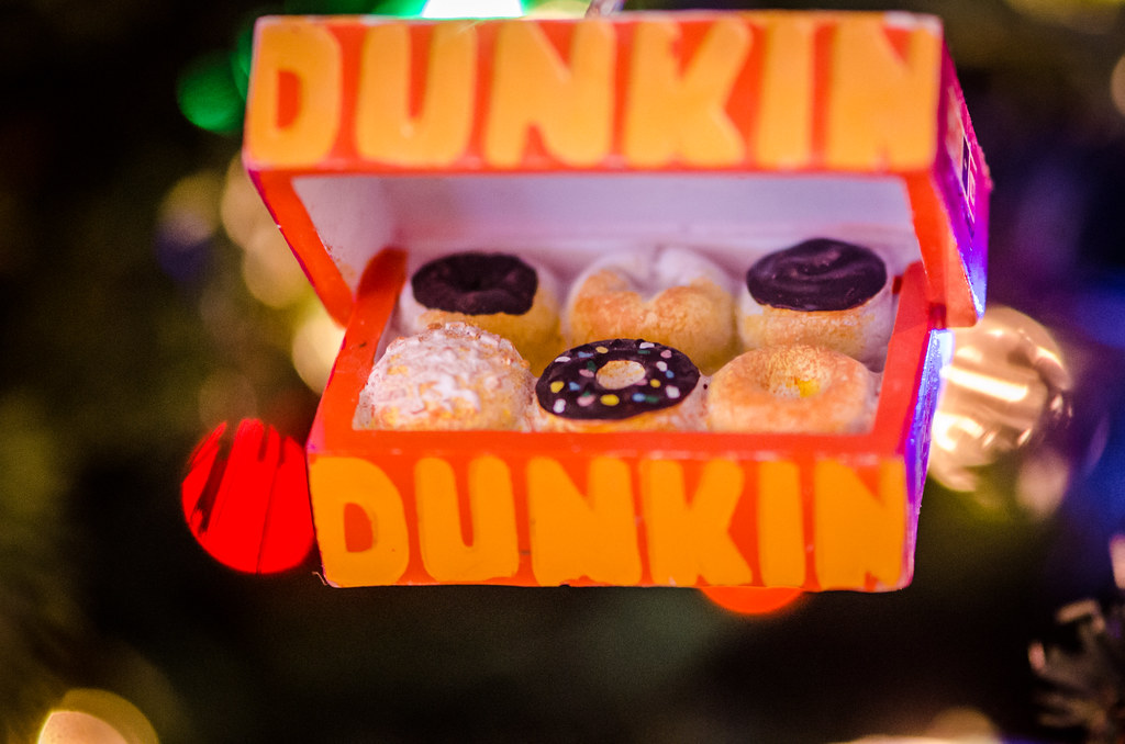 Dunkin Donuts Christmas Ornament | m01229 | Flickr