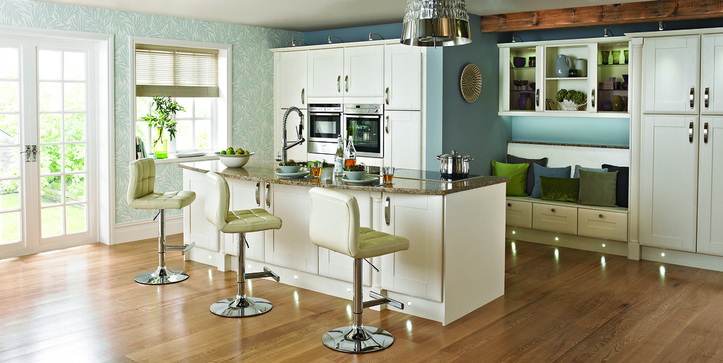 Kitchen in elegant washington cream we 39 ve released this for Country living kitchen designs