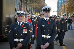 HMCS Discovery Vigil Sentries