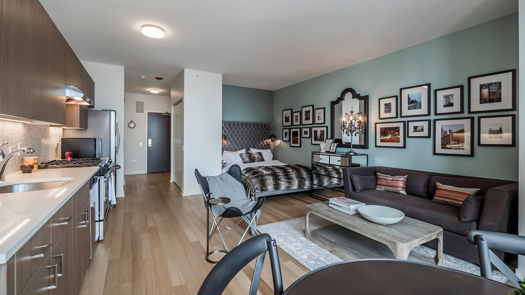 Studio Model, North Water Apartments, Streeterville