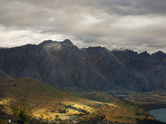The Remarkables from Ben Lomond Scenic Reserve