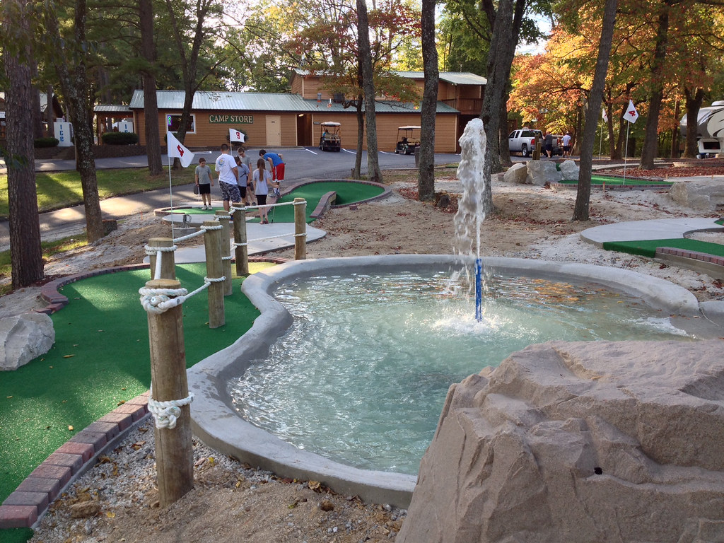 ... New Miniature Golf Course At Lake Rudolph | By Lake Rudolph Campground  U0026 R.V. Resort