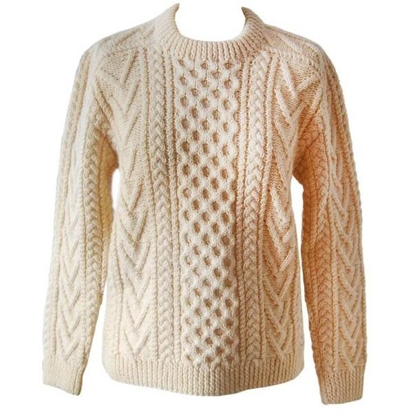 Knitting Patterns Sweater Modern : Fishbone aran honeycomb sweater mytwist flickr