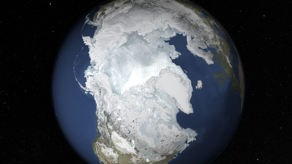 2015 Arctic Sea Ice Maximum Annual Extent Is Lowest On Rec