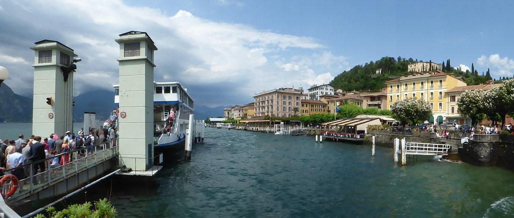 Lake Como Bellagio Navigazione Lago Di Como Car Ferr Flickr