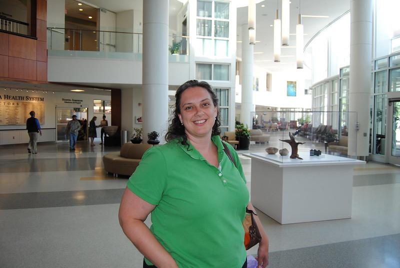 University of Virginia Medical Center Lobby