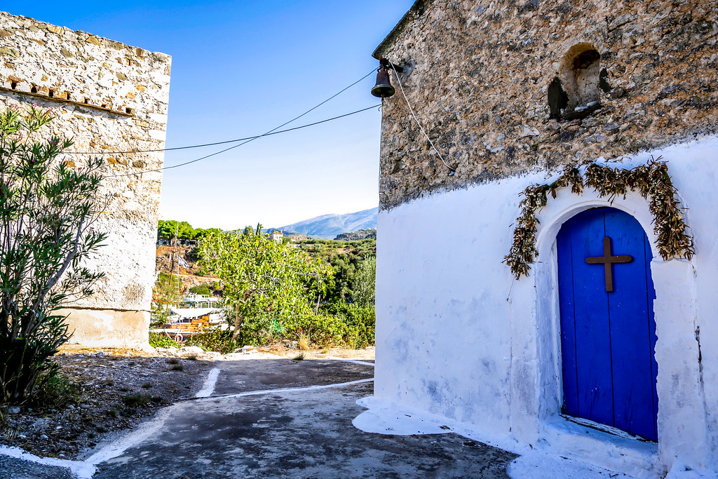 Greek village, Messinia Greece