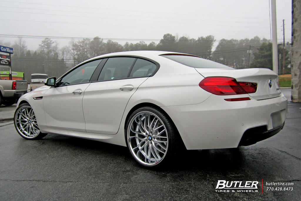 Bmw 650i Gran Coupe With 22in Mrr Gt1 Wheels Additional