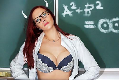 Sexy toupe nyloned women