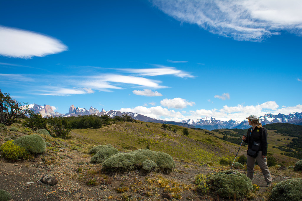 Hiking to spot the wild horses of Patagonia