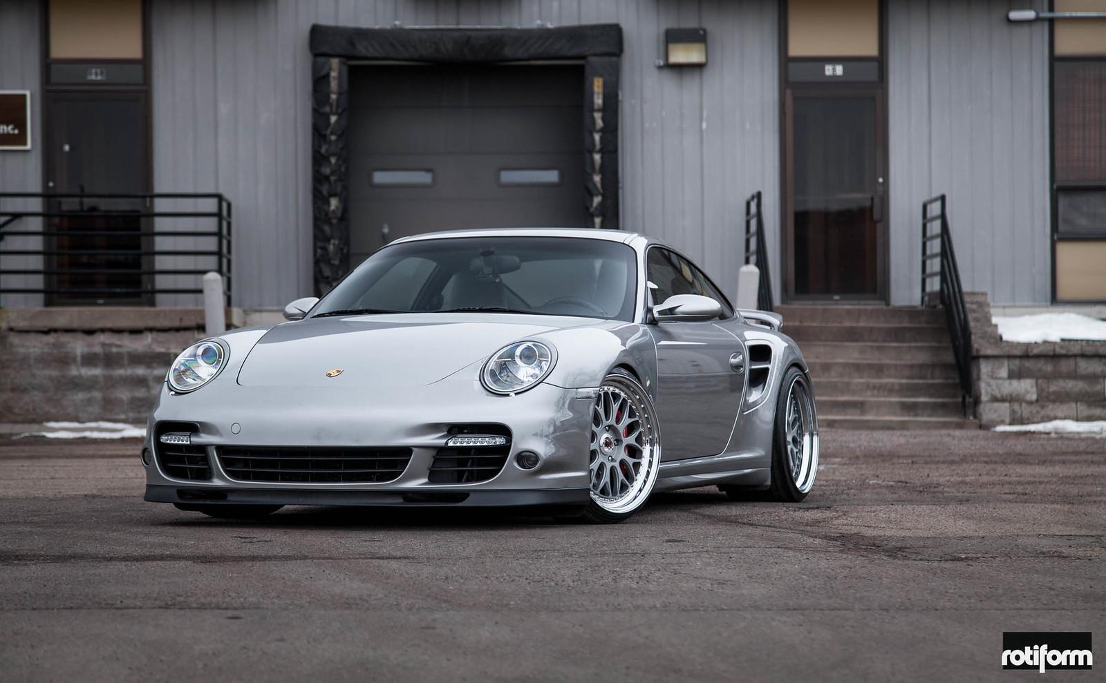Porsche 997 Turbo >> Porsche 997 Turbo - Rotiform DAB   Flickr
