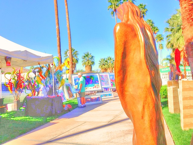 Palm springs art fair flickr photo sharing for Palm springs craft fair