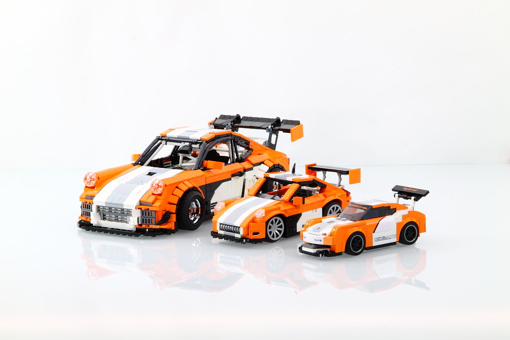 lego porsche 911 997 gt3 hybrid lego speed champions. Black Bedroom Furniture Sets. Home Design Ideas