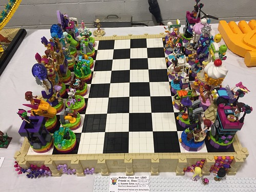 LEGO Friends vs. Elves Chess Set