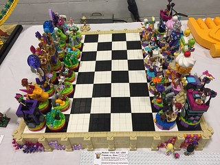 LEGO Friends vs. Elves Chess Set | by SuzEaton