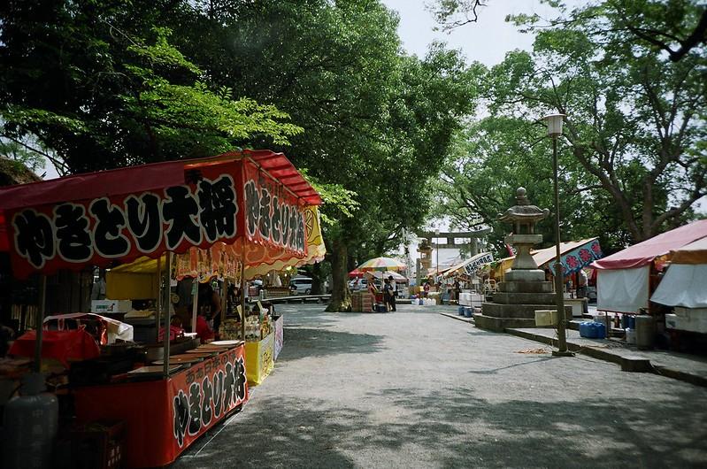 水天宮(筑後川花火大会)