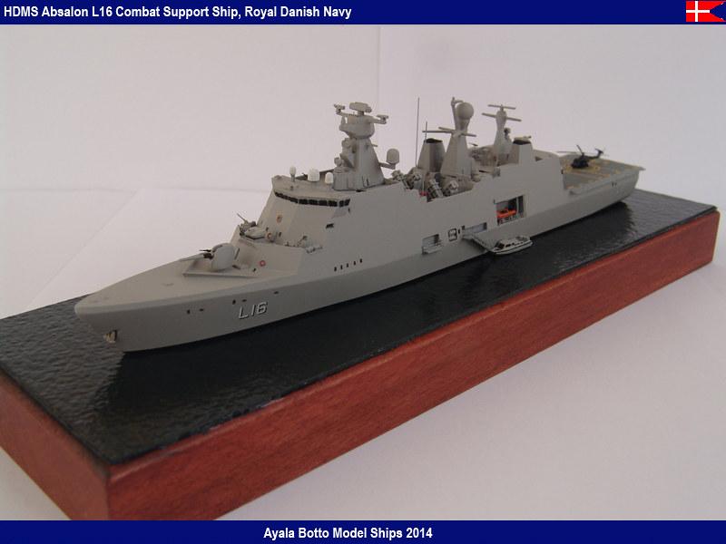 HDMS Absalon L16 Navire de Soutien Multifonctions NNT 1/700  16024522283_161f5a9a18_c