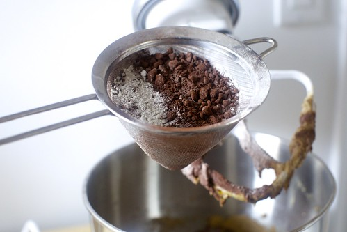 sift the dry ingredients if your cocoa is lumpy | by smitten kitchen