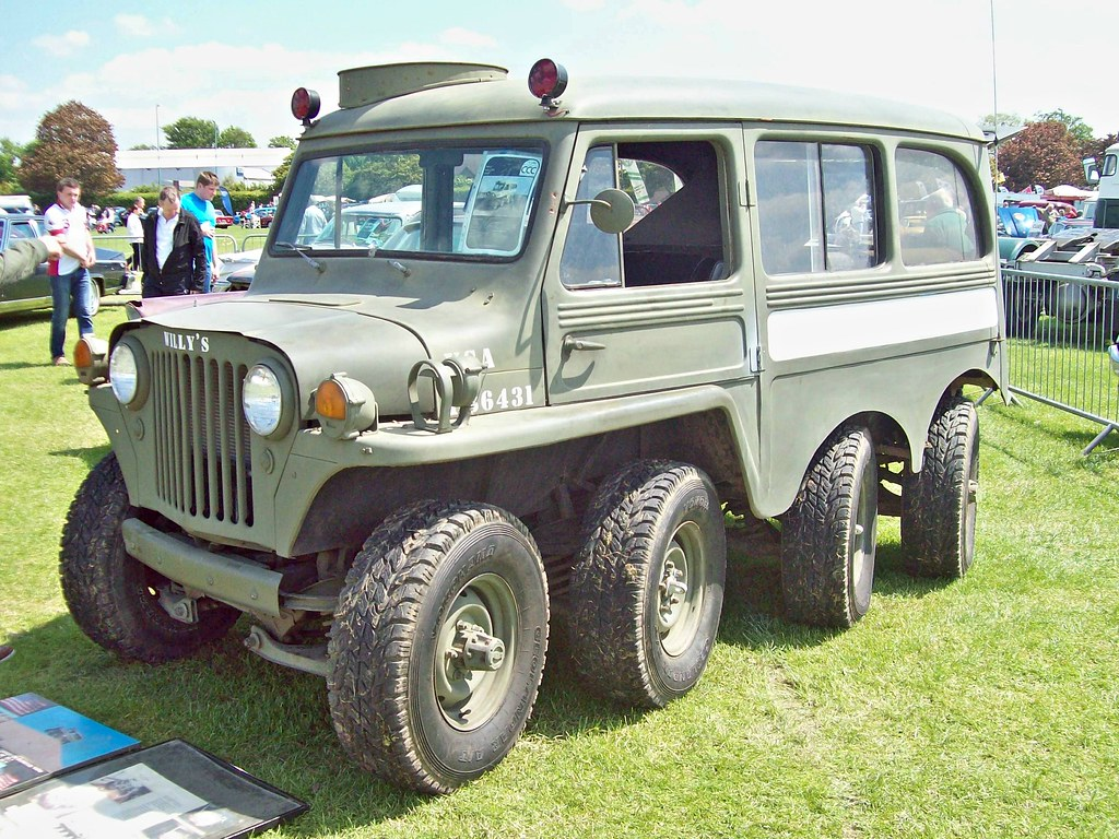 594 Willys 8x8 1953 Engine 327 Cu In Flickr Military Jeep By Robertknight16