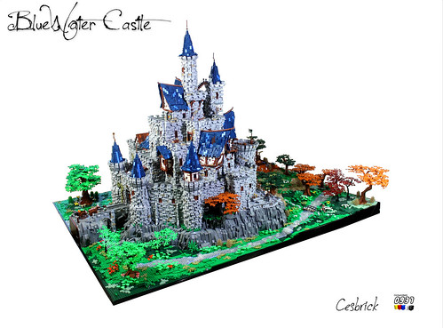 BlueWater Castle | by Cesbrick