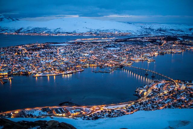 Tromso depuis Fjellheisen