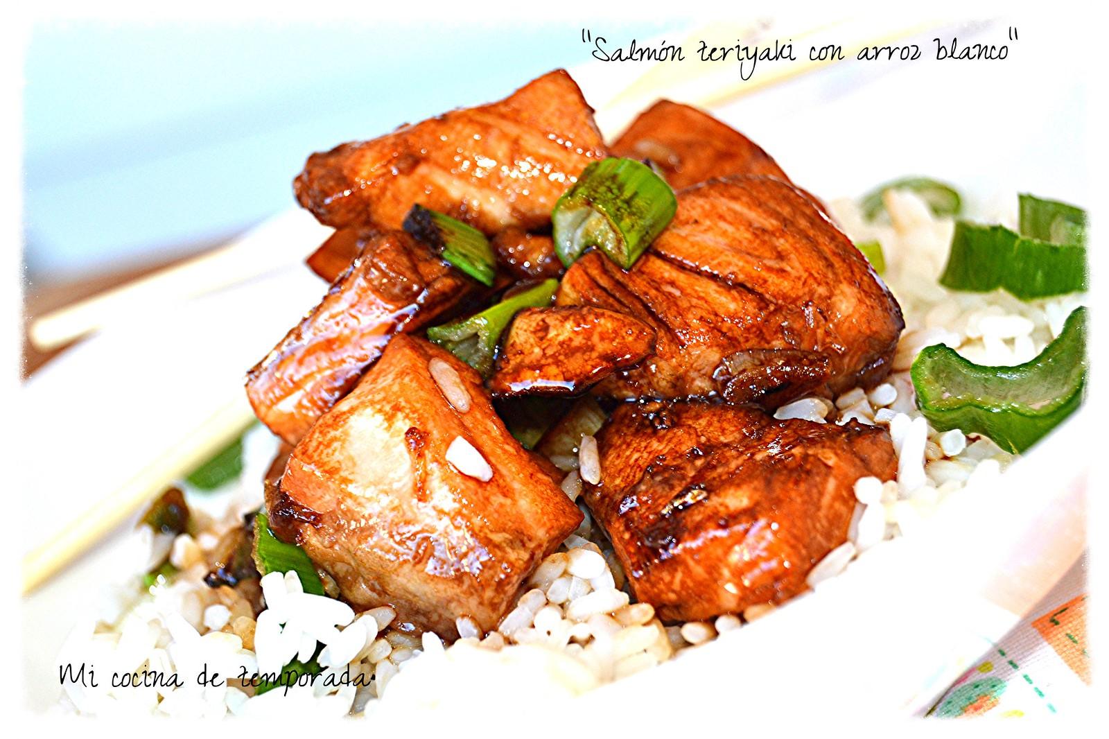 arroz con salmon al teriyaki 016