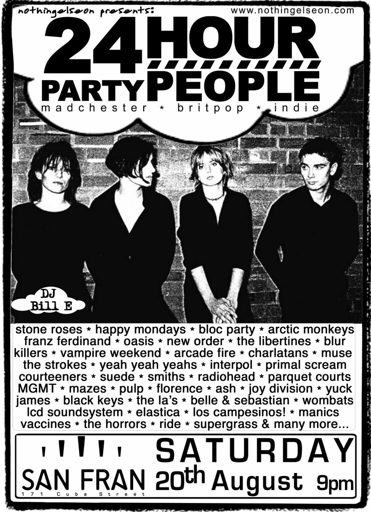 24 Hour Party People, 20 August 2016